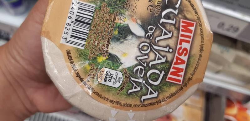 Cuajada de oveja - Ingredientes