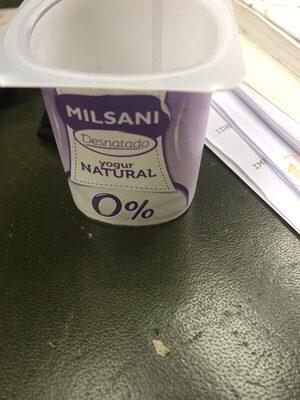 Milsani yogur desnatado
