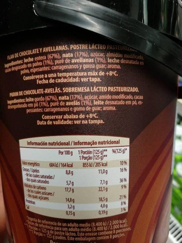 yogur cremoso de fresa - Información nutricional - es