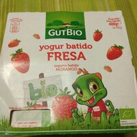 Yogur batido fresa/morango y platano/banana - Producto - es