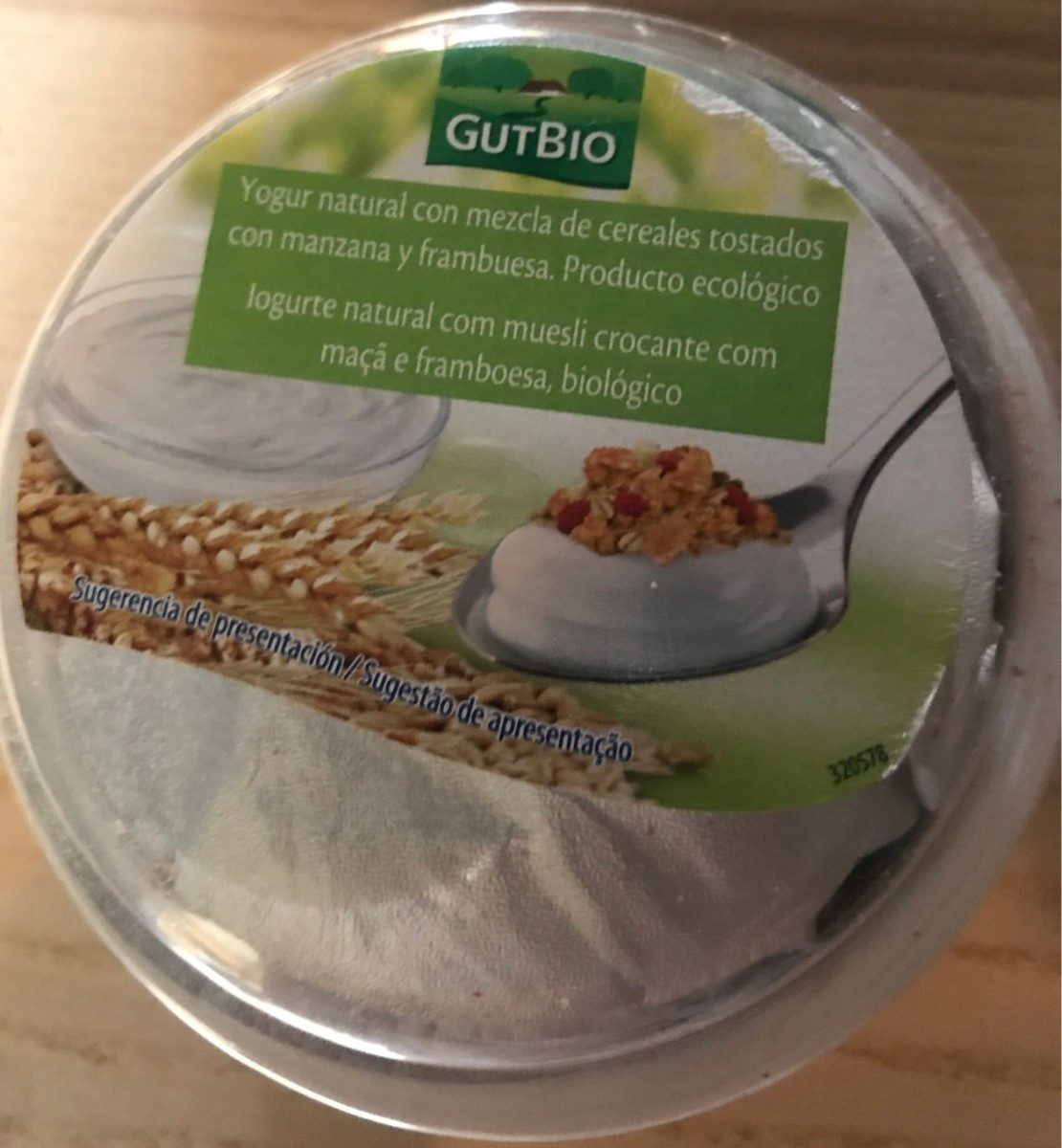 Yogurt cereales GutBio - Product - fr