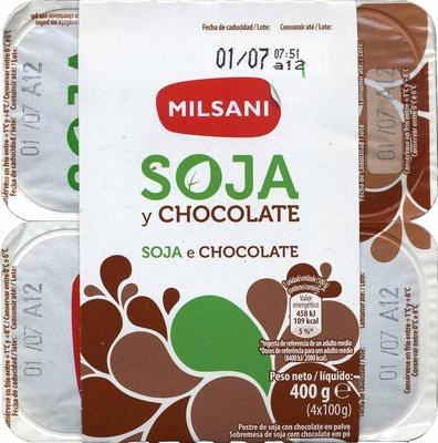 Soja y chocolate - Producto