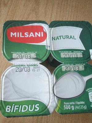 Yogurt Natural Bifidus Milsani