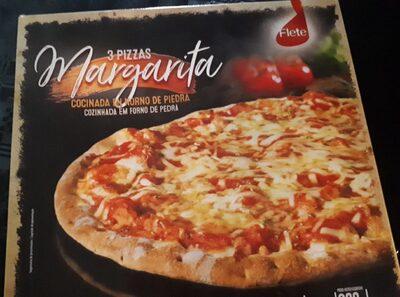 3 Pizzas Margarita - Produit
