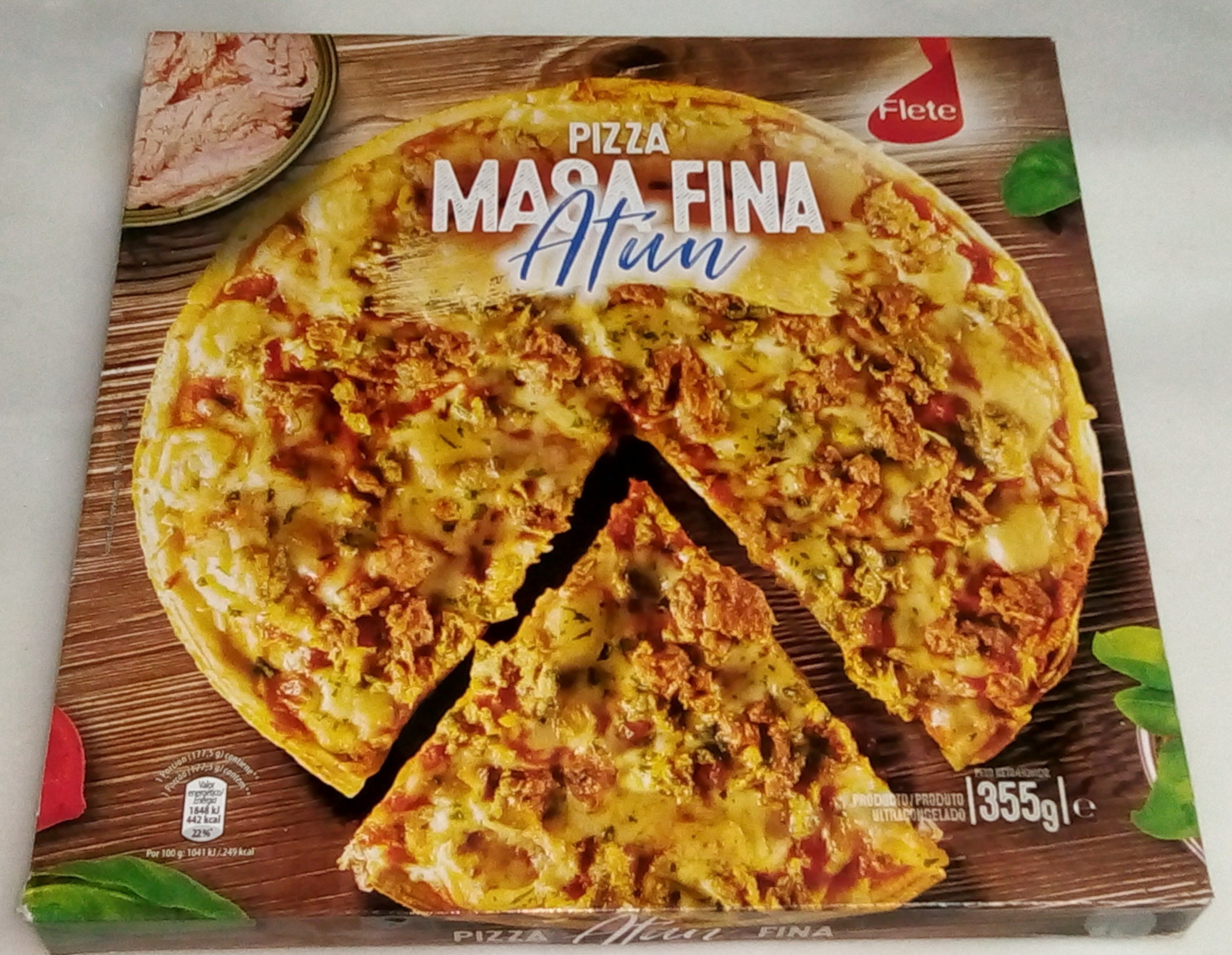 Pizza masa fina - Product - pt