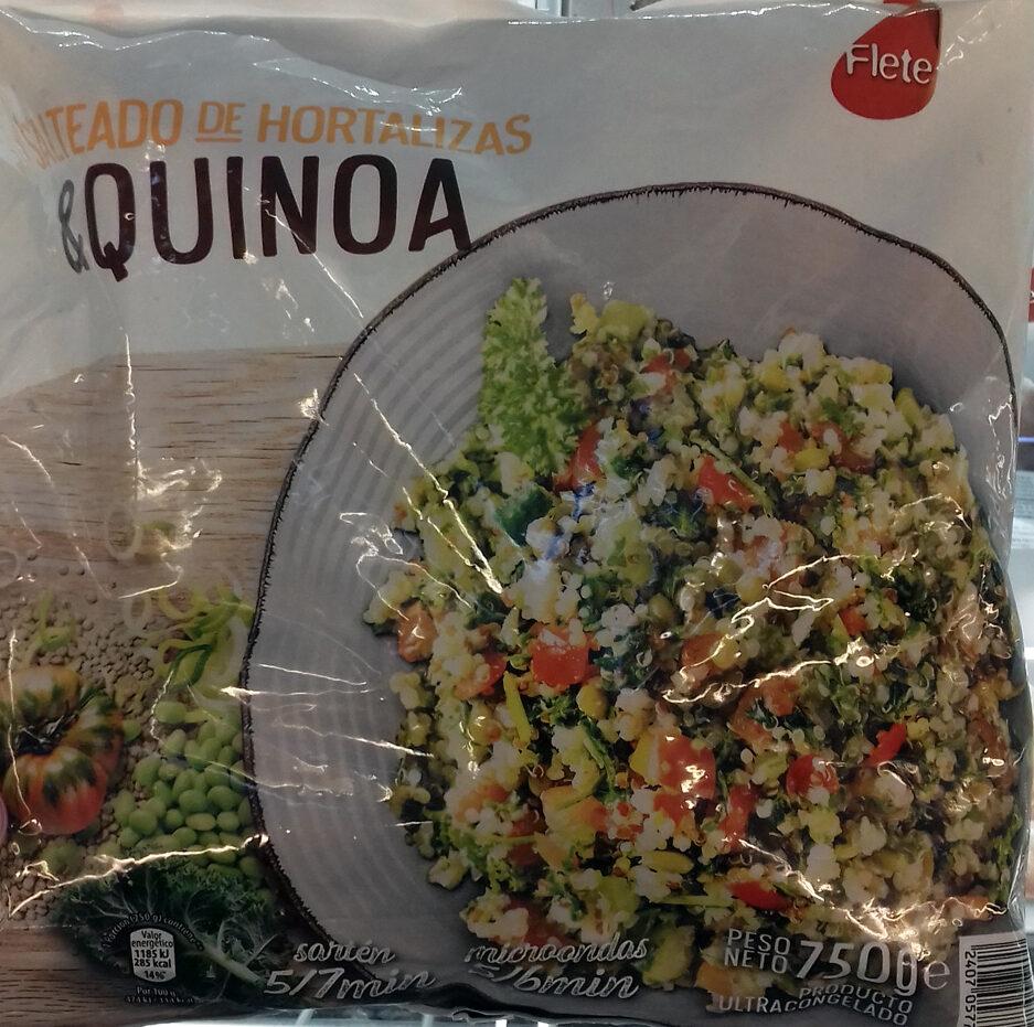 Salteado de Hortalizas & quinoa - Product
