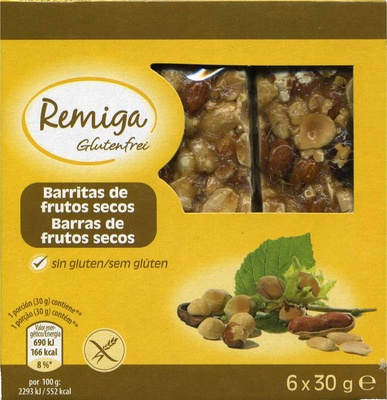 Barritas de frutos secos - Product