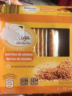 Barritas de frutos secos - Produit - fr