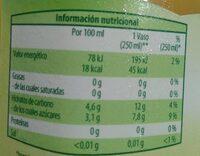 Jugo de Aloe Vera con Manzanilla - Voedingswaarden