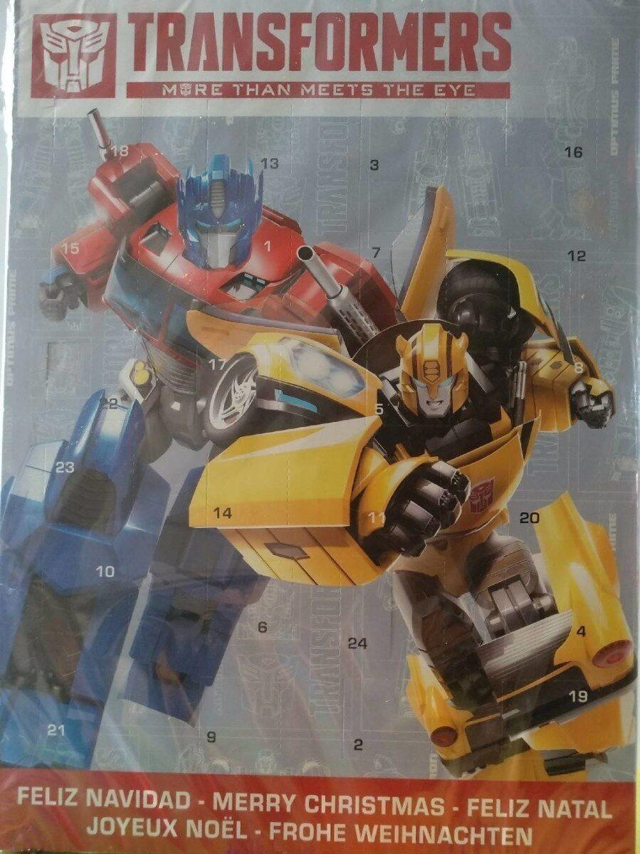 Calendario de adviento Transformers - Produit