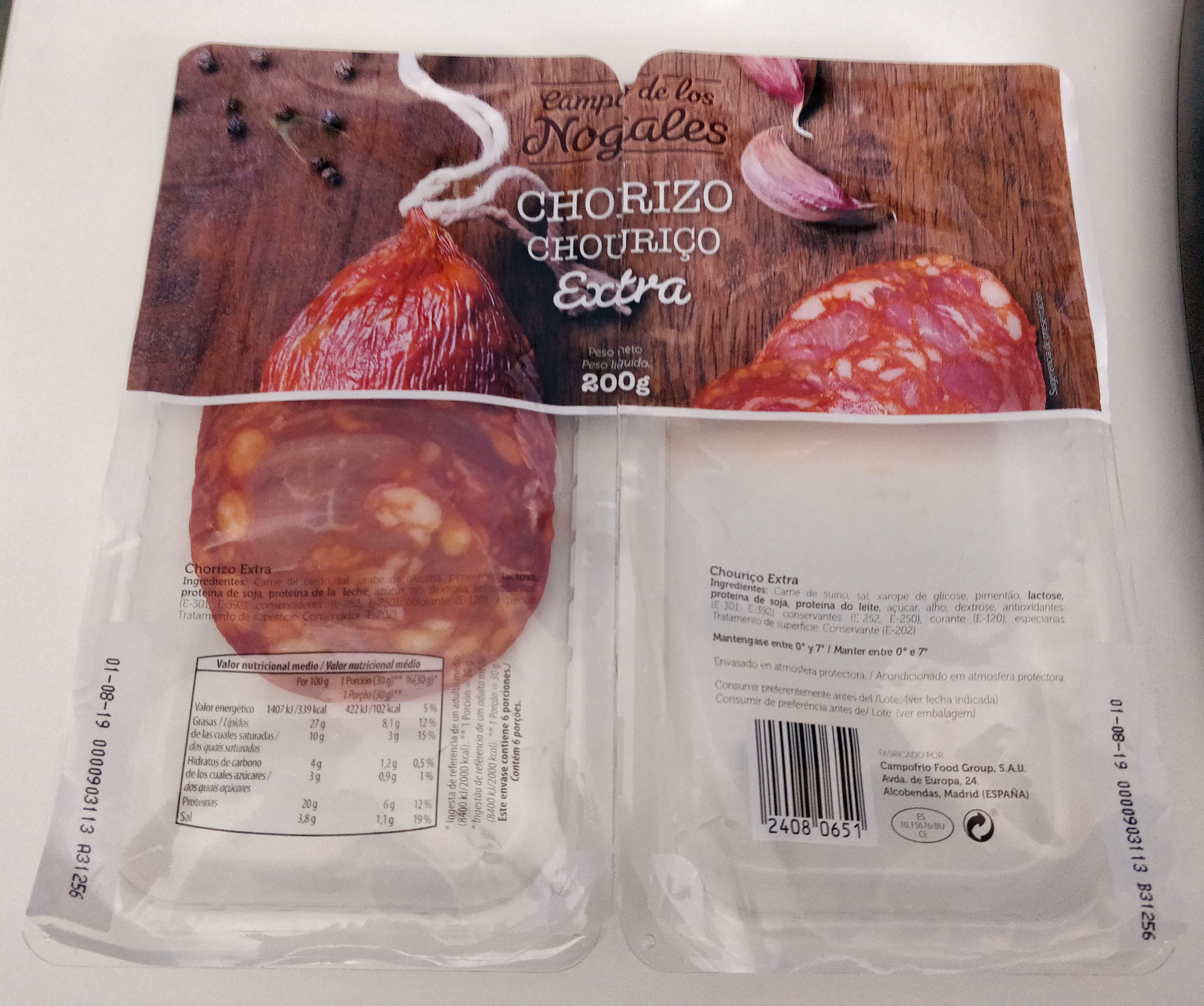 Chorizo Extra - Product