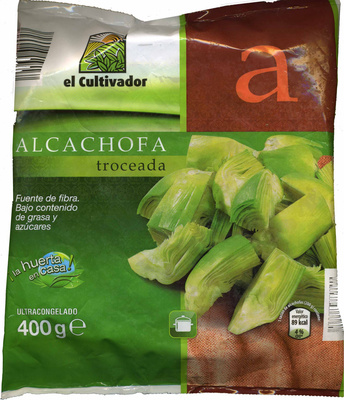 """Alcachofas troceadas congeladas """"El Cultivador"""" - Product"""