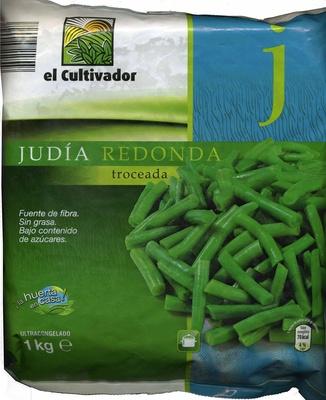 """Judías verdes redondas troceadas congeladas """"El Cultivador"""""""