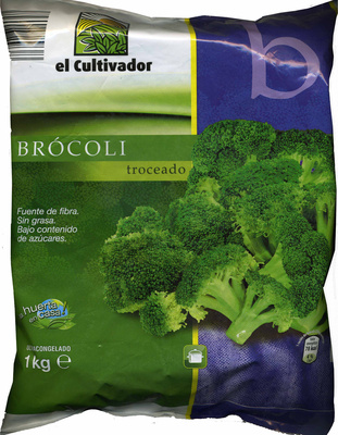"""Brócoli troceado congelado """"El Cultivador"""" - Product - es"""