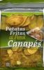 Patatas fritas al perol Extra-Gruesas - Produit