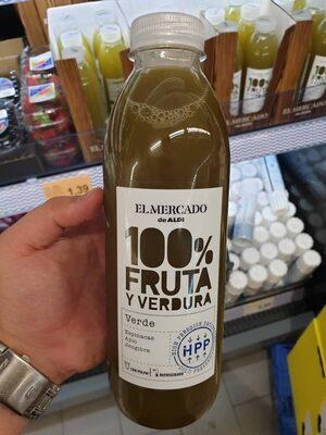 100% fruta y verdura