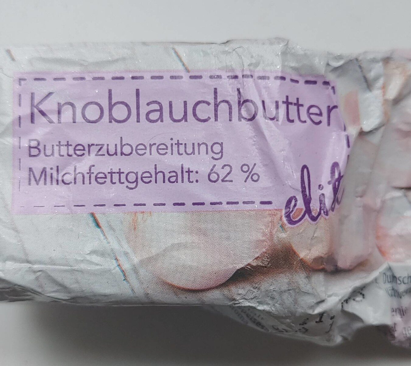 Knoblauchbutter elite - Produkt - de