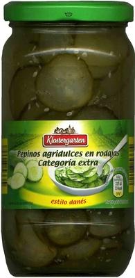 Pepinos Agridulces en Rodajas - Producte - es