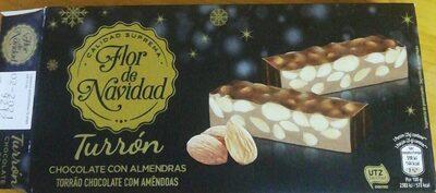 Turrón chocolate con almendras - Producto - es