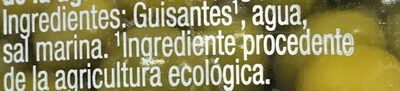 Guisantes - Ingredients - es
