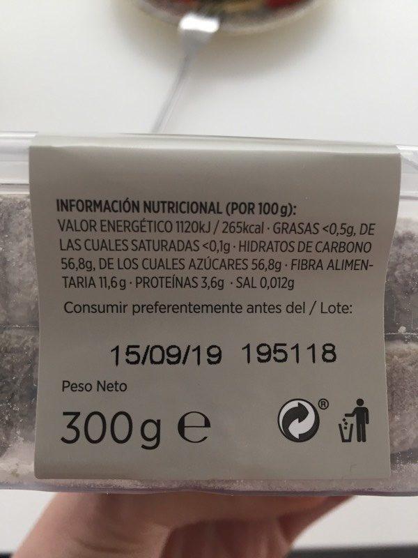 Higos Secos - Informació nutricional