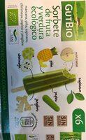 Sorbete de fruta y verdura ecológico - Producto - es