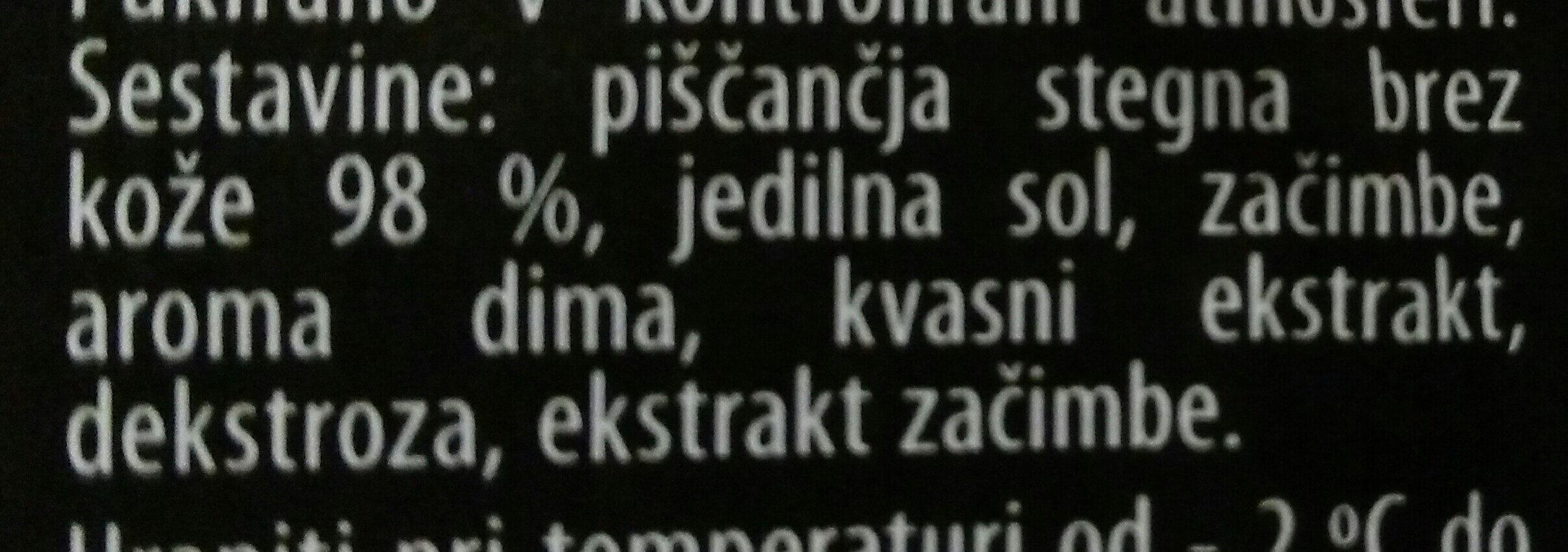 Piščančji ribbsi - Ingredients - sl