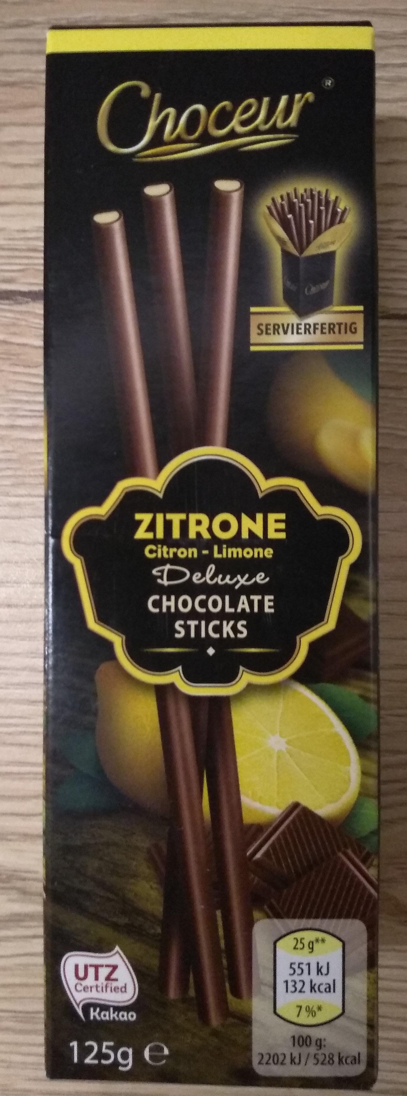 Deluxe chocolat sticks caramel - Produit - hu