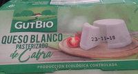 Queso Blanco Pasteurizado de Cabra - Producto