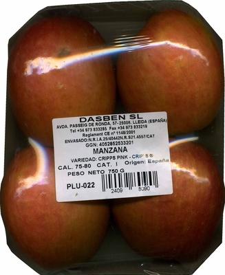 Manzana - Producto - es