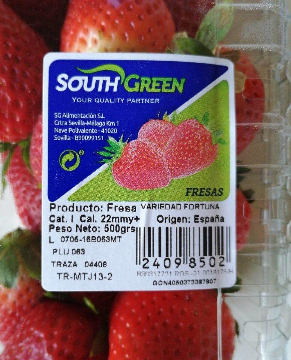 Fresas - Producte - es