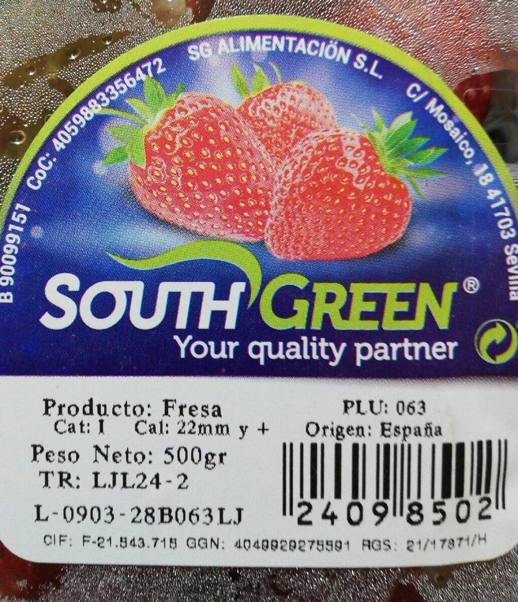 Fresas - Informació nutricional - es