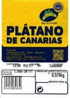 Plátano de Canarias I.G.P - Ingrédients - es