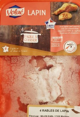 Rables de lapin. - Product - fr