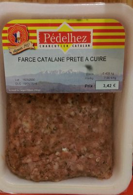 Farce catalane pr te cuire p delhez 0 428 kg for Origine du mot farce