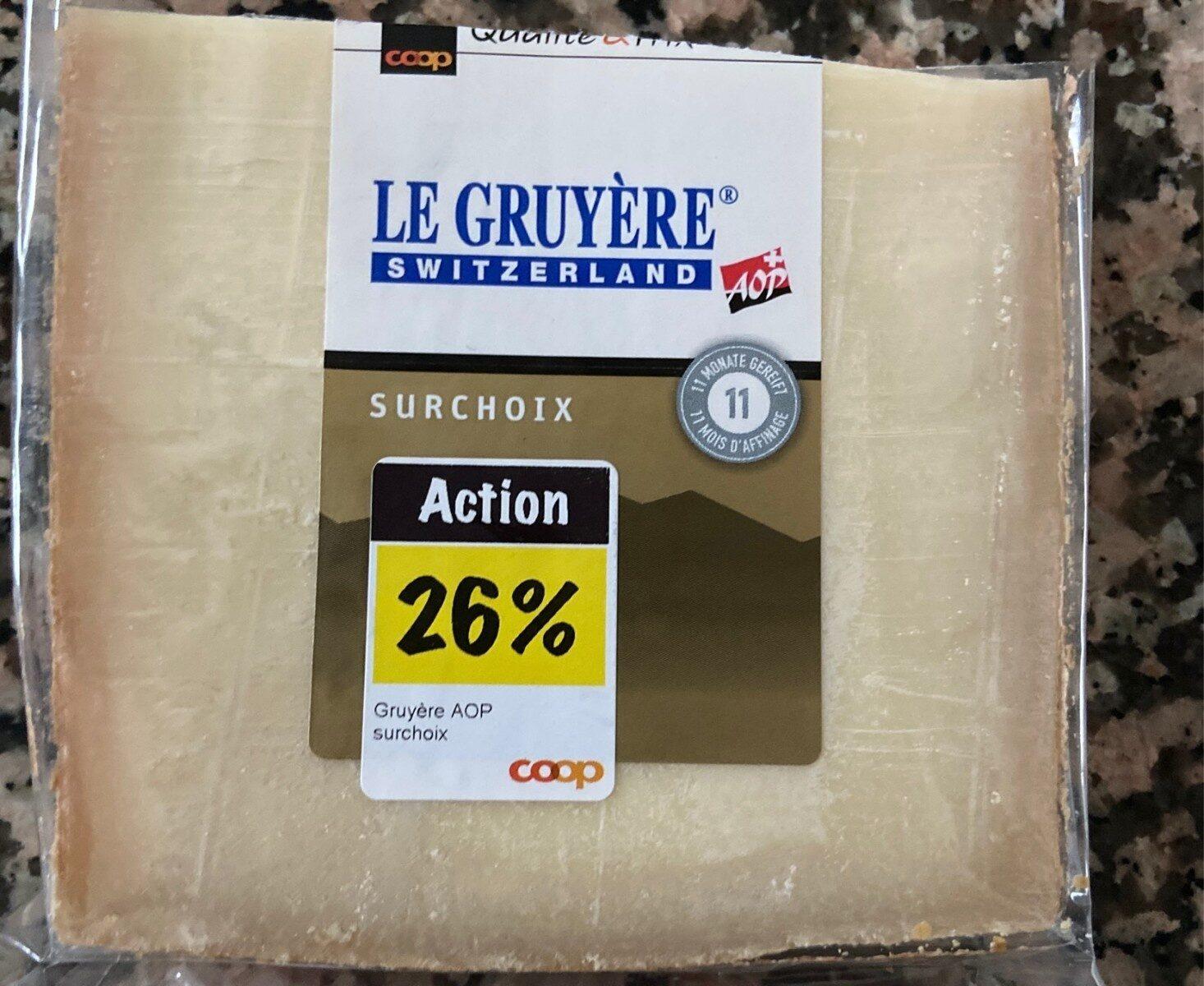Le Gruyère - Product