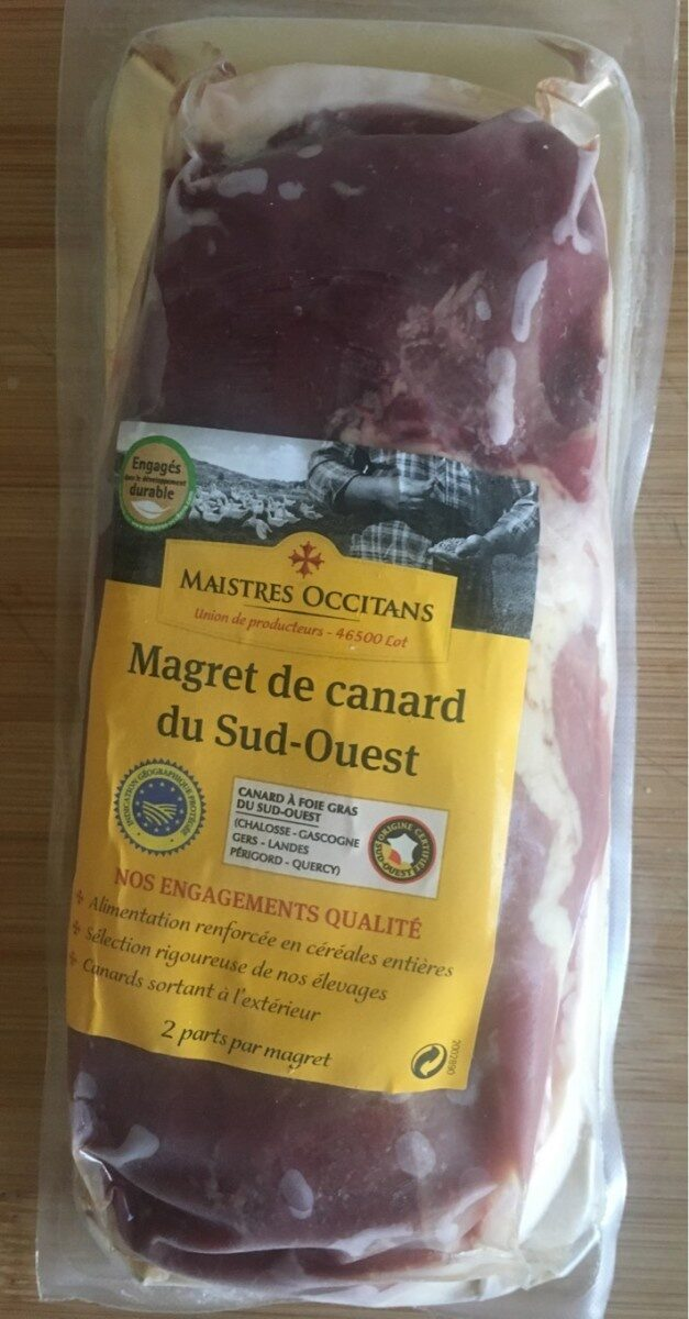 Magret de canard du Sud-Ouest - Product - fr