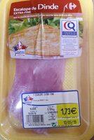 Ecalope de dinde extra-fine - Produit - fr