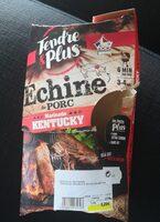 Échine de porc - marinade Kentucky - Produit - fr