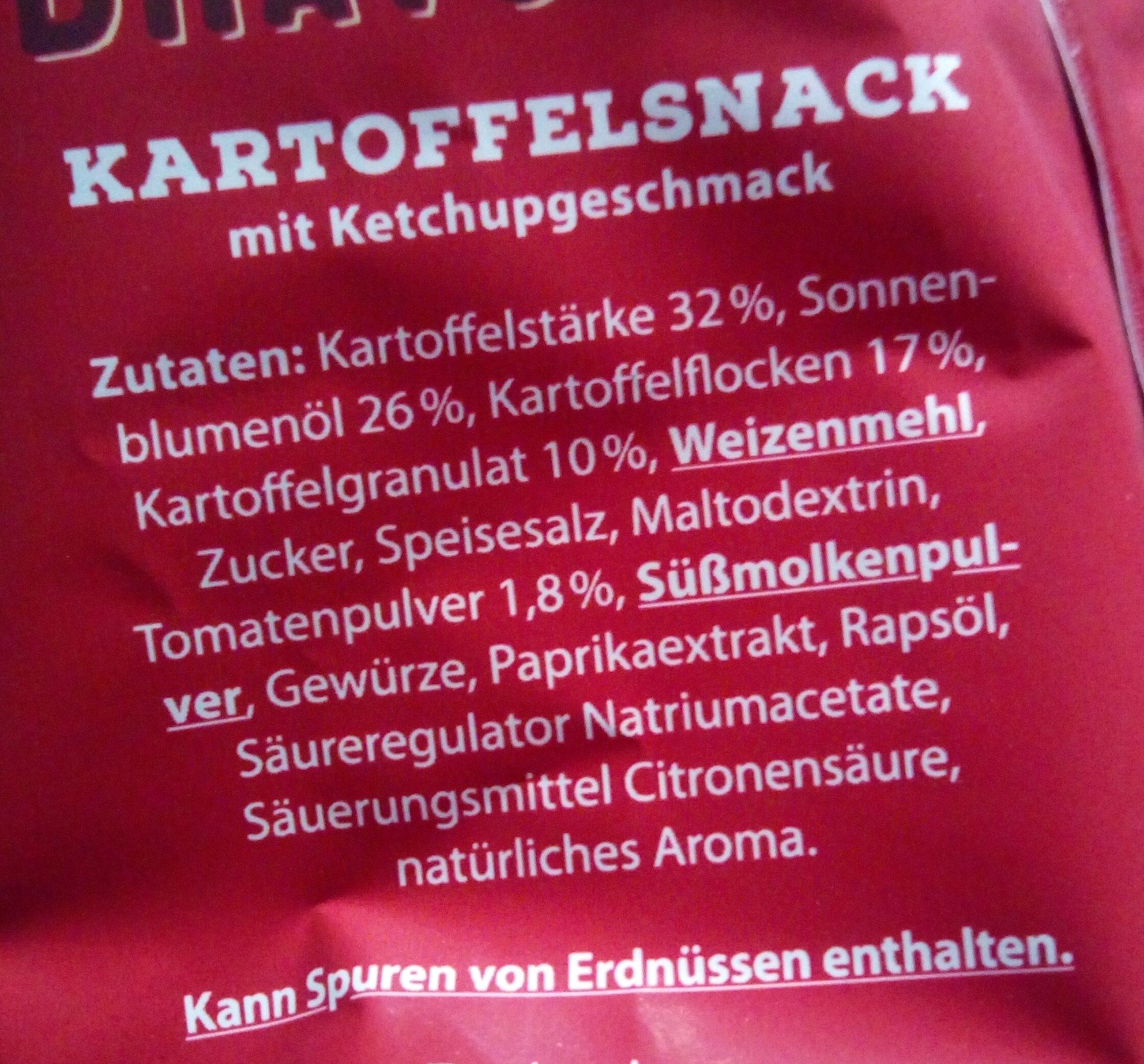 Pommer snack - Ingrediënten