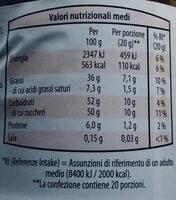 Crema spalmabile alle nocciole al cacao - Informations nutritionnelles - it