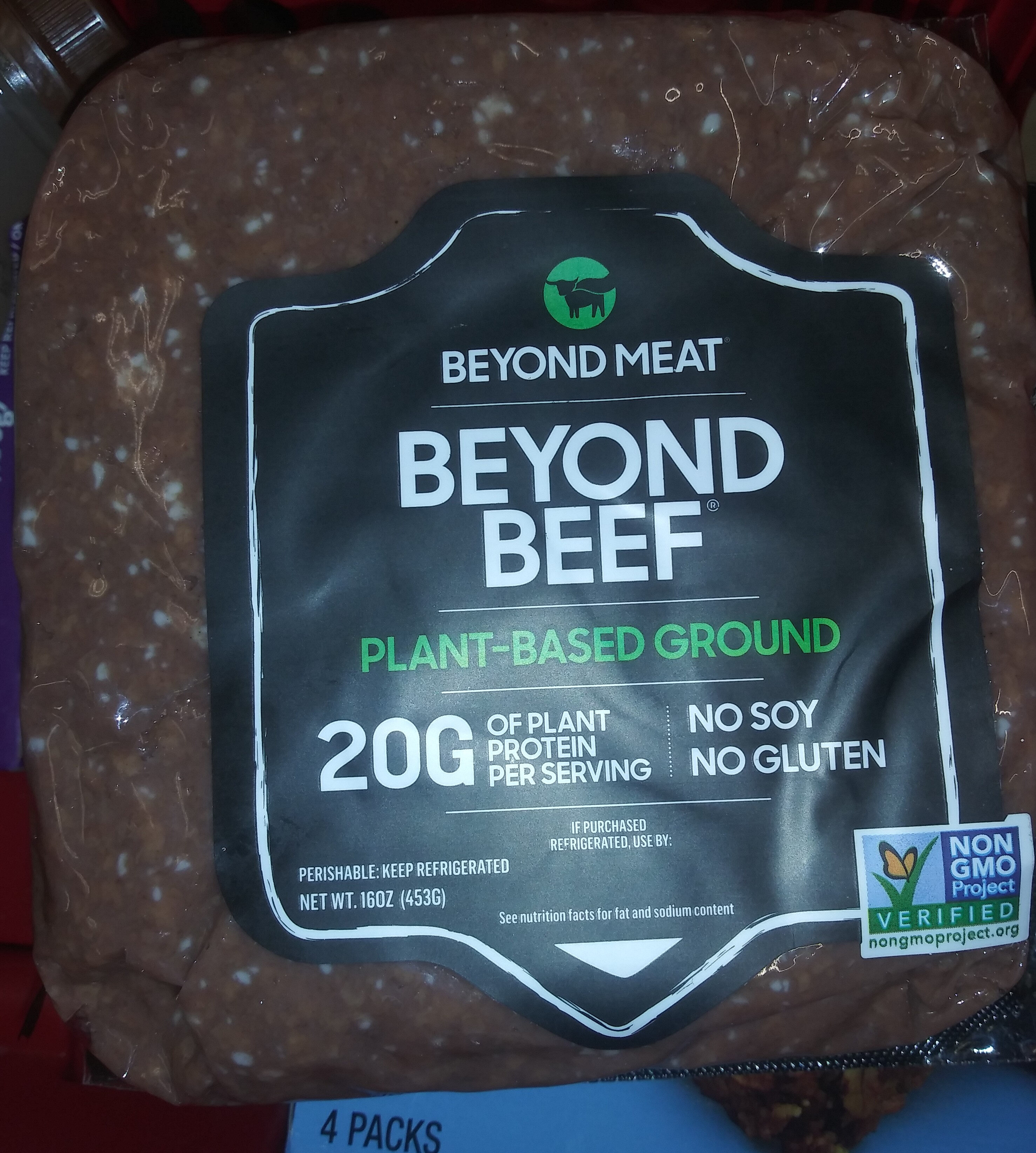Beyond Beef - Product
