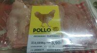 Pollo pechugas fileteadas - Prodotto - es