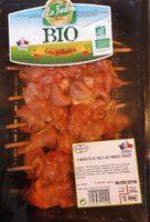 Brochette de poulet bio marinées paprika - Product - fr