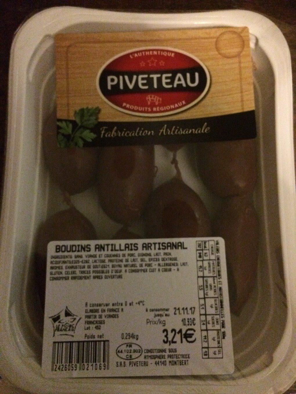 Boudin antillais artisanal - Product - fr