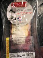 Roti filet de porc aux trois fromages - Produit