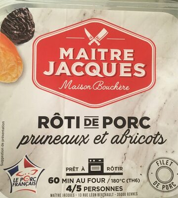 Roti de porc pruneaux et abricots - Product