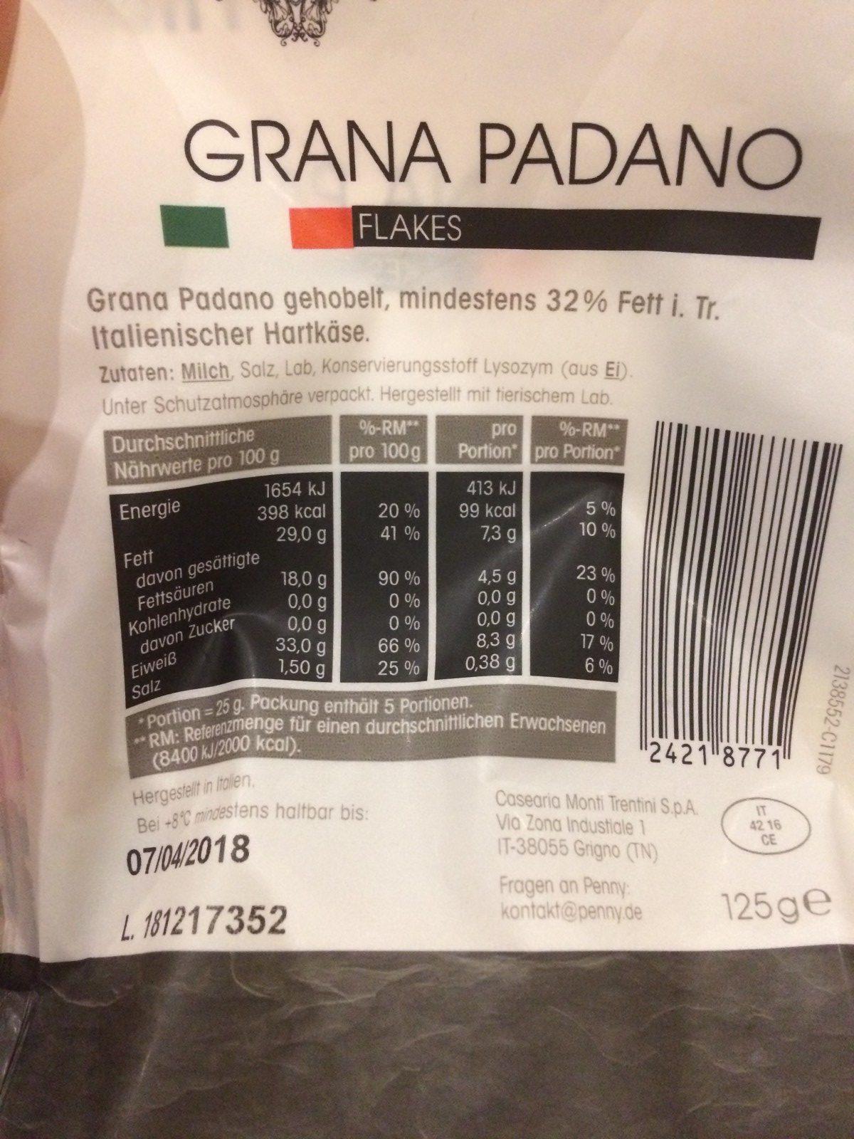 Grana Padano Flakes - Produit - fr