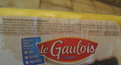 Les milanaise - Ingrediënten