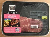 Côte de porc échine sans os - Product